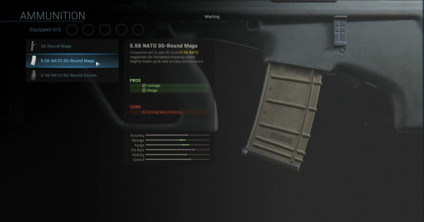 CoD: MW 2019 | 5.56 NATO 30-Round Mags - Magazine Stats | Call of Duty: Modern Warfare