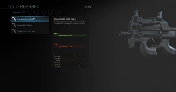 Warzone | Granulated Grip Tape (Underbarrel) Stats | Call of Duty Modern Warfare - GameWith