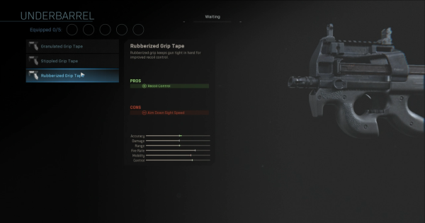 【Warzone】Rubberized Grip Tape (Underbarrel) Stats【Call of Duty Modern Warfare】 - GameWith