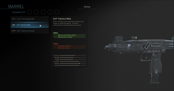 【Warzone】8.5 Factory Mini - Barrel Stats【Call of Duty Modern Warfare】 - GameWith