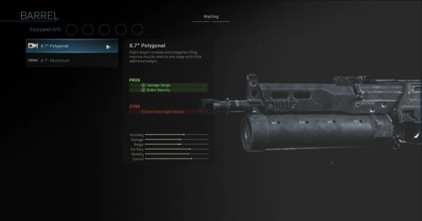Warzone   8.7 Polygonal - Barrel Stats   Call of Duty Modern Warfare - GameWith