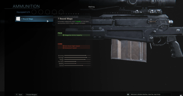 【Warzone】7 Round Mags (AX-50) - Magazine Stats【Call of Duty Modern Warfare】 - GameWith