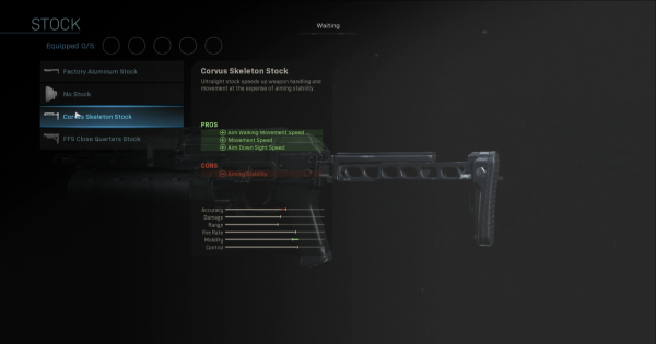 【Warzone】Corvus Skeleton Stock - Stock Stats【Call of Duty Modern Warfare】 - GameWith