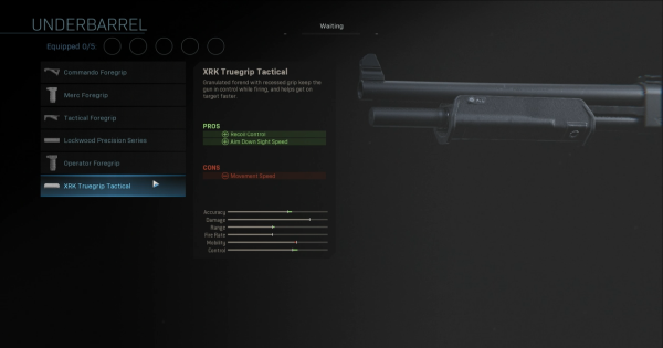 【Warzone】XRK Truegrip Tactical - Underbarrel Stats【Call of Duty Modern Warfare】 - GameWith