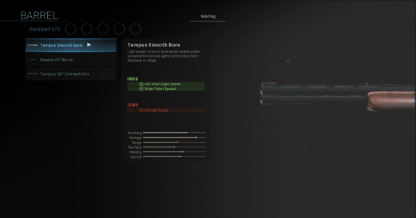 【Warzone】Tempus Smooth Bore - Barrel Stats【Call of Duty Modern Warfare】 - GameWith