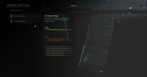Warzone | 30 Round Mags (ODEN) - Magazine Stats | Call of Duty Modern Warfare - GameWith