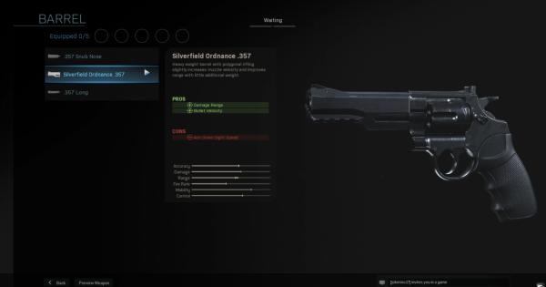 【Warzone】Silverfield Ordnance .357 - Barrel Stats【Call of Duty Modern Warfare】 - GameWith
