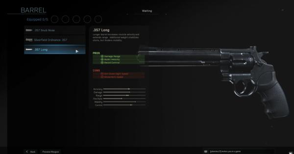 Warzone | .357 Long - Barrel Stats | Call of Duty Modern Warfare - GameWith