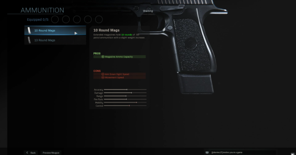 【Warzone】10 Round Mags (.50 GS) - Magazine Stats【Call of Duty Modern Warfare】 - GameWith