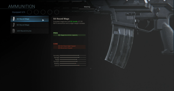【Warzone】50 Round Mags (Uzi) - Magazine Stats【Call of Duty Modern Warfare】 - GameWith