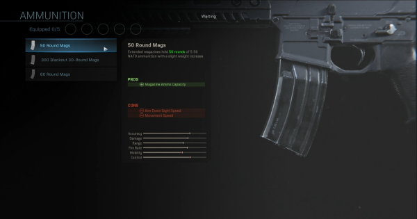 Warzone | 50 Round Mags (MP7) - Magazine Stats | Call of Duty Modern Warfare - GameWith