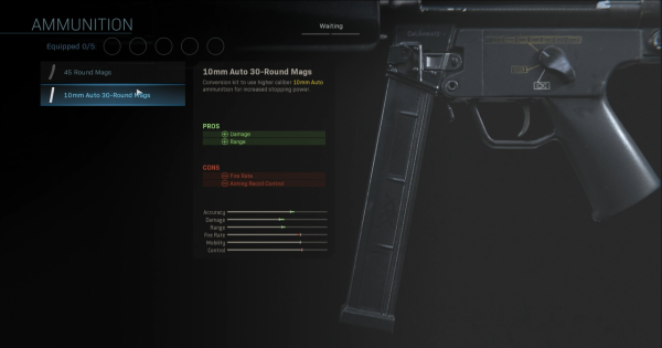 【Warzone】10mm Auto 30-Round Mags - Ammunition Stats【Call of Duty Modern Warfare】 - GameWith
