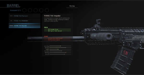 【Warzone】FORGE TAC Wideshot - Barrel Stats【Call of Duty Modern Warfare】 - GameWith