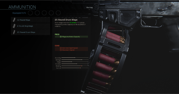 【Warzone】25 Round Drum Mags - Magazine Stats【Call of Duty Modern Warfare】 - GameWith