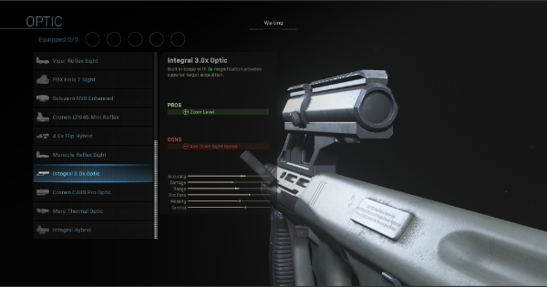 【Warzone】Integral 3.0x Optic - Optic Stats【Call of Duty Modern Warfare】 - GameWith