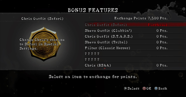 【Resident Evil 5】Fast Exchange Points Farming Guide【RE5】 - GameWith