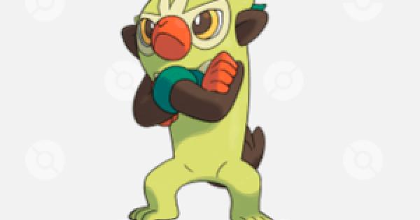 Pokemon Sword Shield | Thwackey - Evolution Level & Weakness