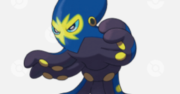 Pokemon Sword and Shield | Grapploct - Location, Base Stats & Movesets