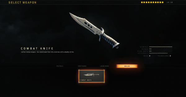 CoD: BO4 | COMBAT KNIFE Melee - Stats, Tips, Unlock Level & Attachment | Call of Duty: Black Ops 4