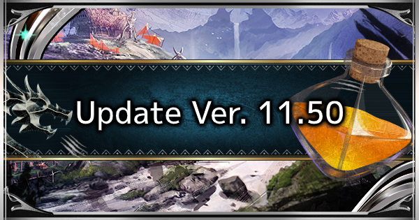 MHW: ICEBORNE | Update 11.50 Patch Notes