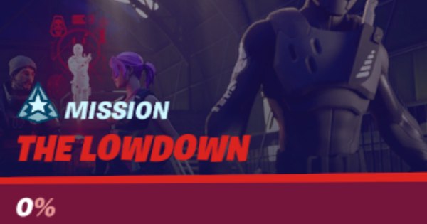 Fortnite | The Lowdown Challenges