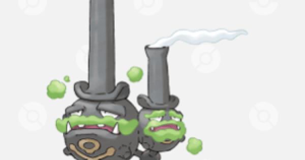 Pokemon Sword and Shield | Galarian Weezing - Location, Base Stats & Moves