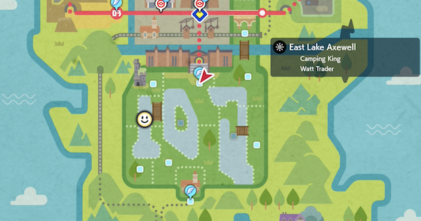 East Lake Axewell  - Den Map & Location | Pokemon Sword Shield - GameWith