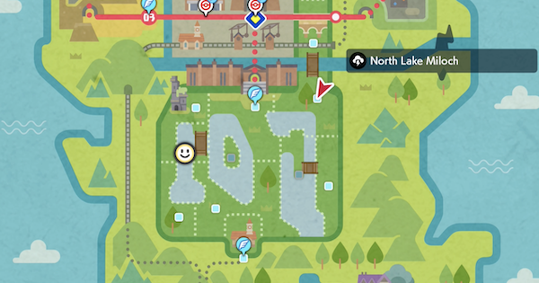 North Lake Miloch (Wild Area) - Den & Location | Pokemon Sword Shield - GameWith