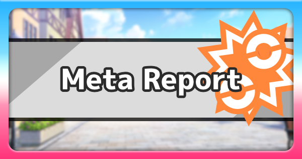 Meta Report For Single Ranked Battles