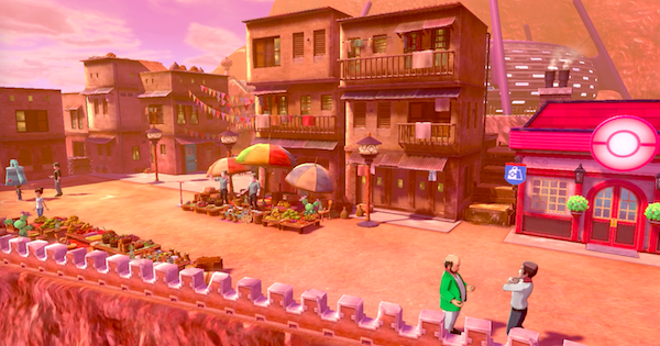 Pokemon Sword and Shield | Stow On Side Town Map - Available Pokemon & Items