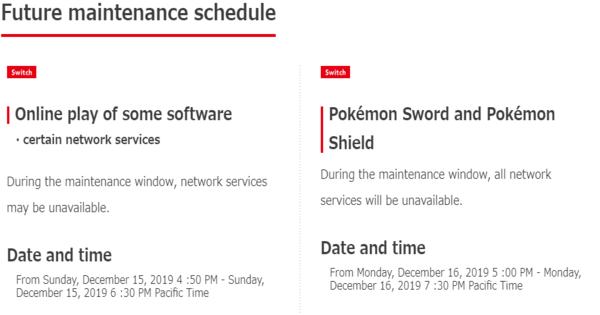 Scheduled Maintenance (June 17) | Pokemon Sword Shield - GameWith