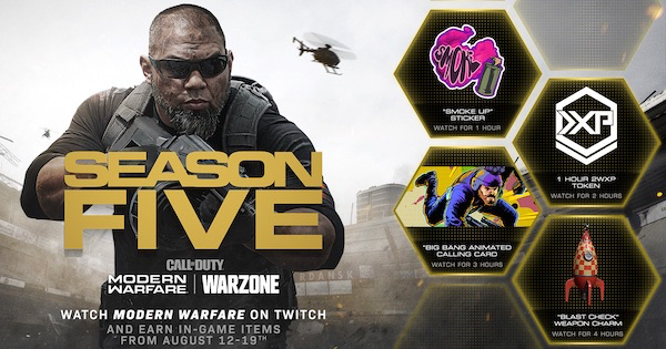 【Warzone】Season 2 Twitch Drop Event【Call of Duty Modern Warfare】 - GameWith