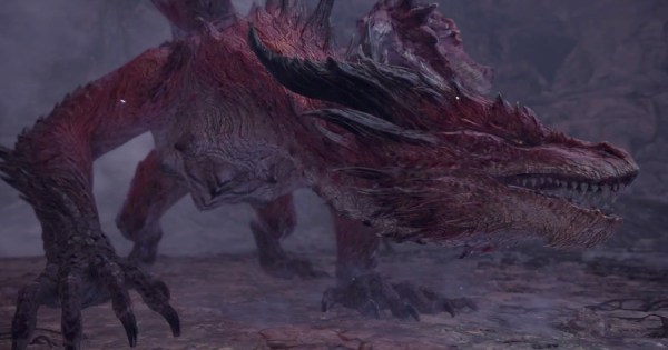 Mhw Iceborne Safi Jiiva The Red Dragon Quest Details How