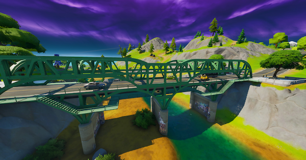 Fortnite | Steel Bridges Location - Chaos Rising Challenge - GameWith