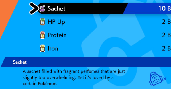 Sachet - How To Get & Location | Pokemon Sword Shield - GameWith