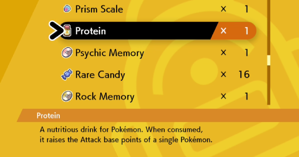 Buy Protein - How To Get & Location | Pokemon Sword Shield - GameWith