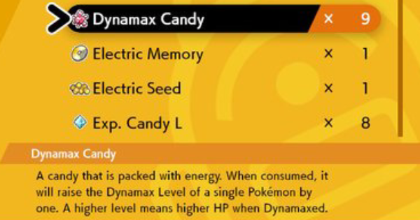 Dynamax Candy - How to Get & Location   Pokemon Sword Shield - GameWith