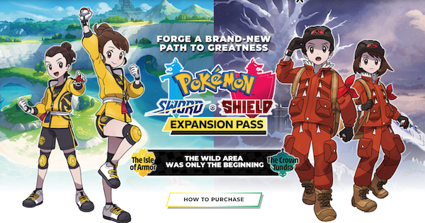 Expansion Pass (DLC) - Latest News & Release Date | Pokemon Sword Shield - GameWith