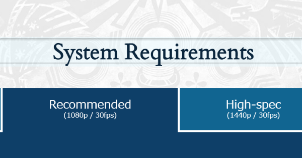 MHW: ICEBORNE | PC System Requirements