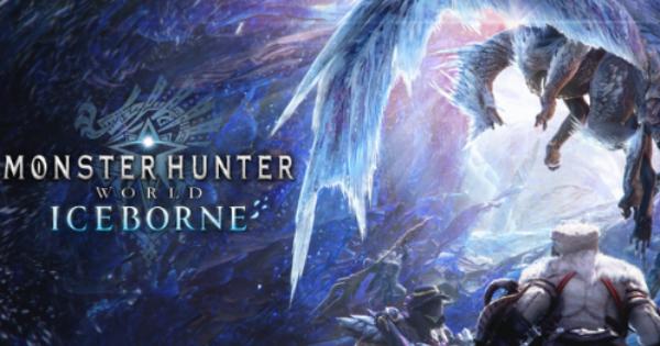 MHW: ICEBORNE | Update 10.12.01 Patch Notes (PC Steam)
