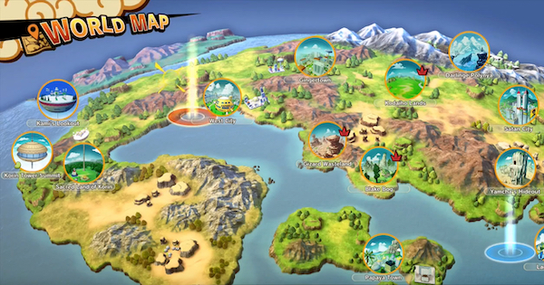 【Dragon Ball Z: Kakarot】Field Maps - Areas & Details【DBZ Kakarot】 - GameWith