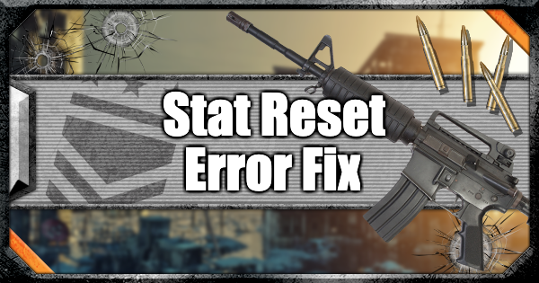 【Warzone】Stat Reset Error Bug - How To Fix【Call of Duty Modern Warfare】 - GameWith