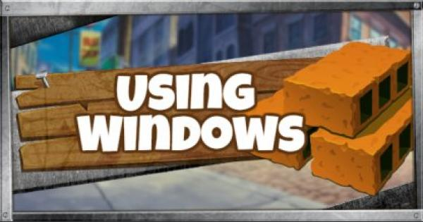 Fortnite | Using Windows to Escape/Enter - GameWith