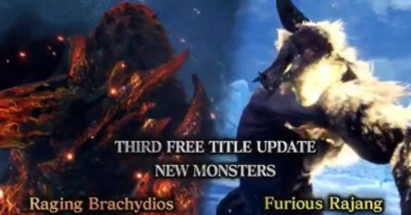 MHW: ICEBORNE | 3rd Free Title Update - Raging Brachydios & Furious Rajang [Updated Mar 2] - GameWith