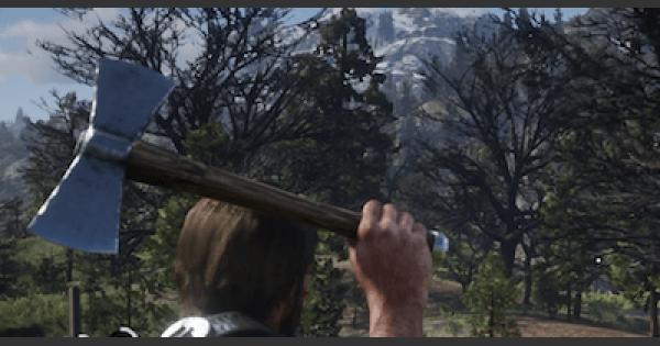 RDR2 | DOUBLE BIT HATCHET - Stats & Customization | Red Dead Redemption 2