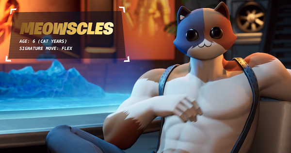 Fortnite | MEOWSCLES Skin - How To Get - GameWith