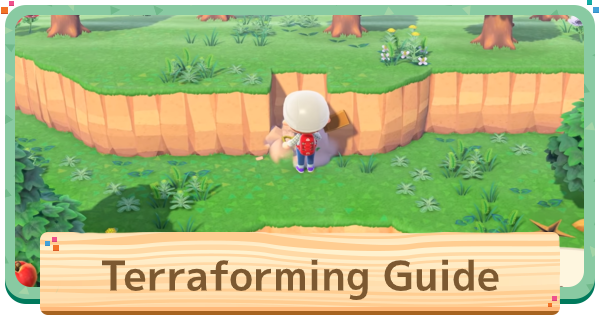 ACNH | Terraforming (Island Designer) - How To Unlock | Animal Crossing - GameWith