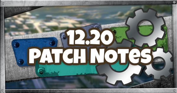 Fortnite   12.20 Patch Notes