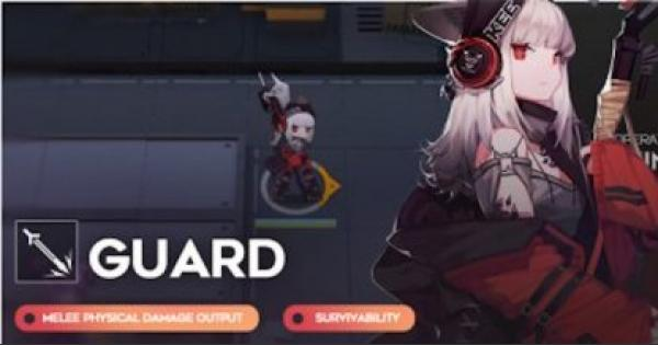 Arknights | Guard Operator List & Their Stats