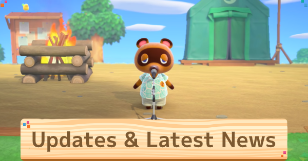 【Animal Crossing New Horizons】Updates & Latest News【ACNH】 - GameWith